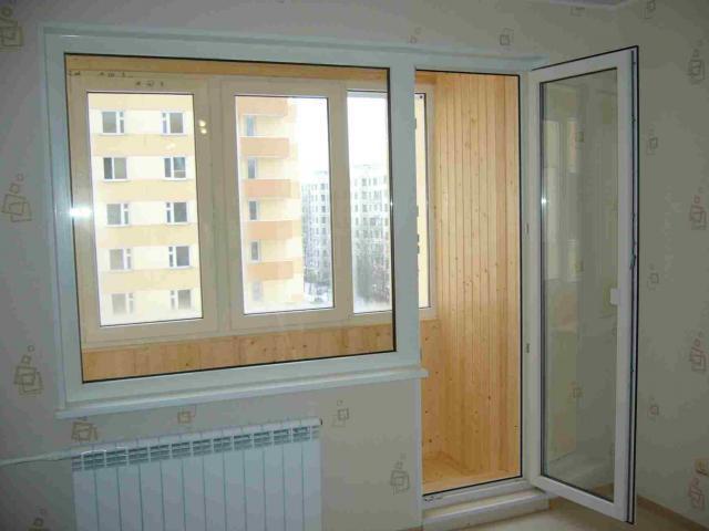 Балконные двери и окна из ПВХ